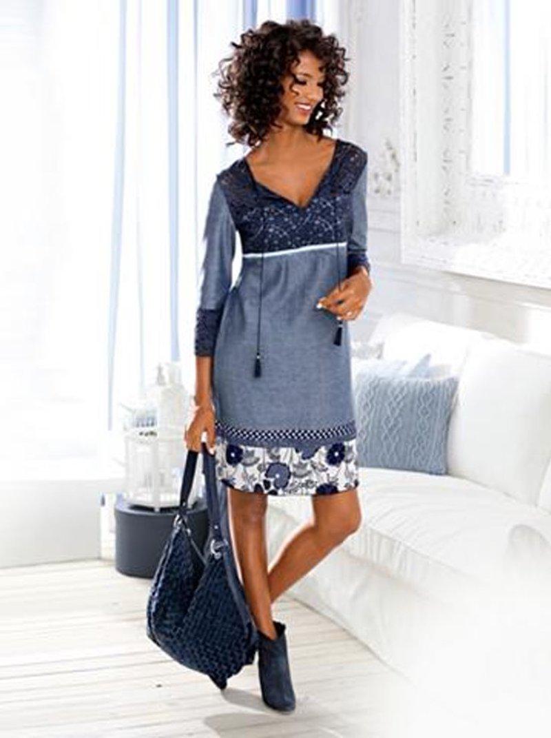 Vestido mujer estampado