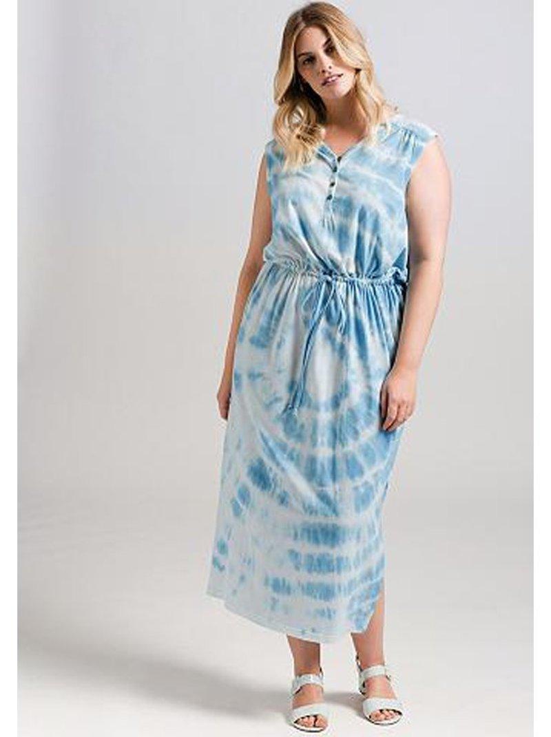 Vestido mujer estampado tallas grandes
