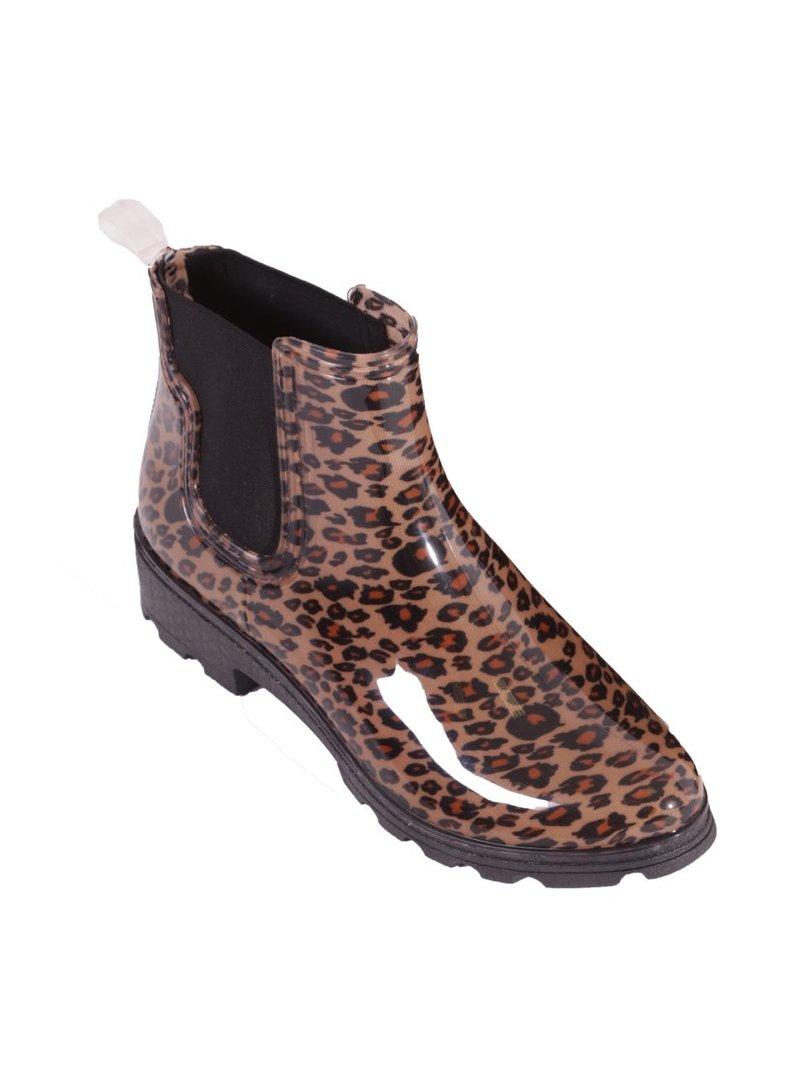 Botines de agua animal print leopardo