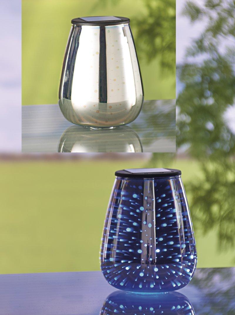 Lámpara solar de mesa sin cables ni pilas