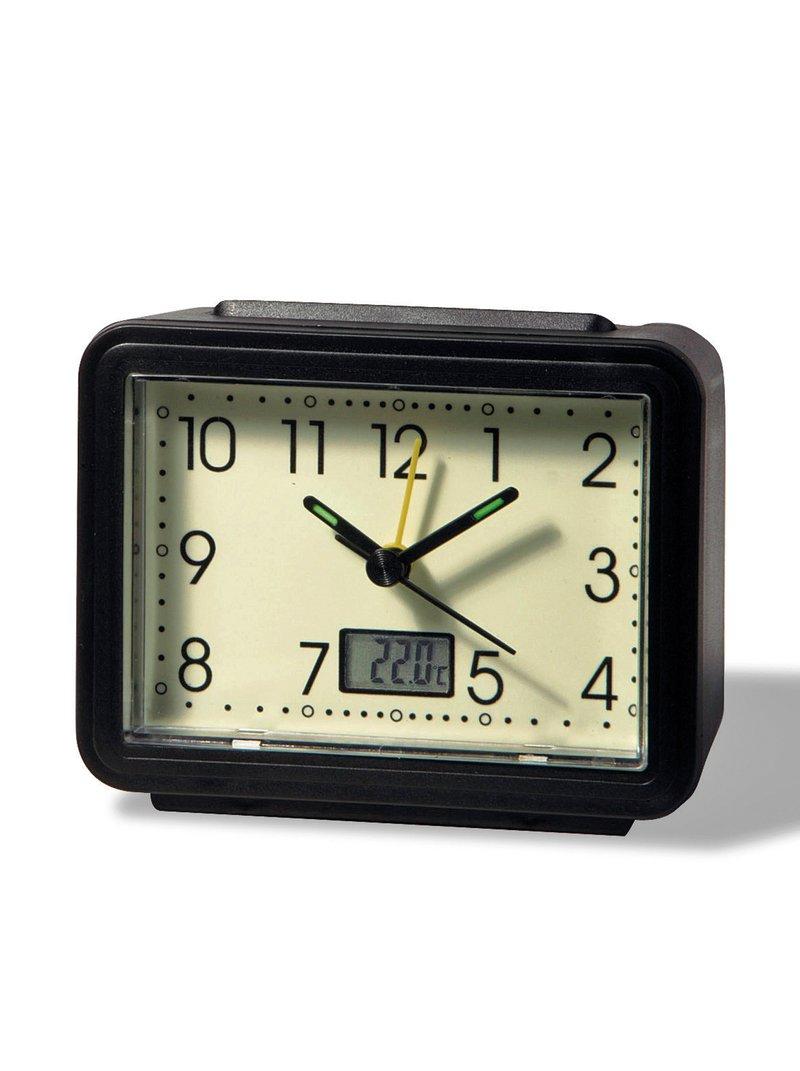 Despertador luminoso con termómetro
