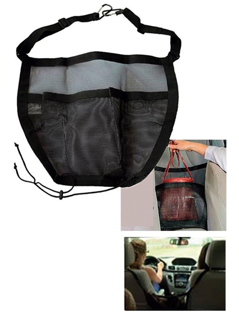 Red de seguridad porta bolso para coche