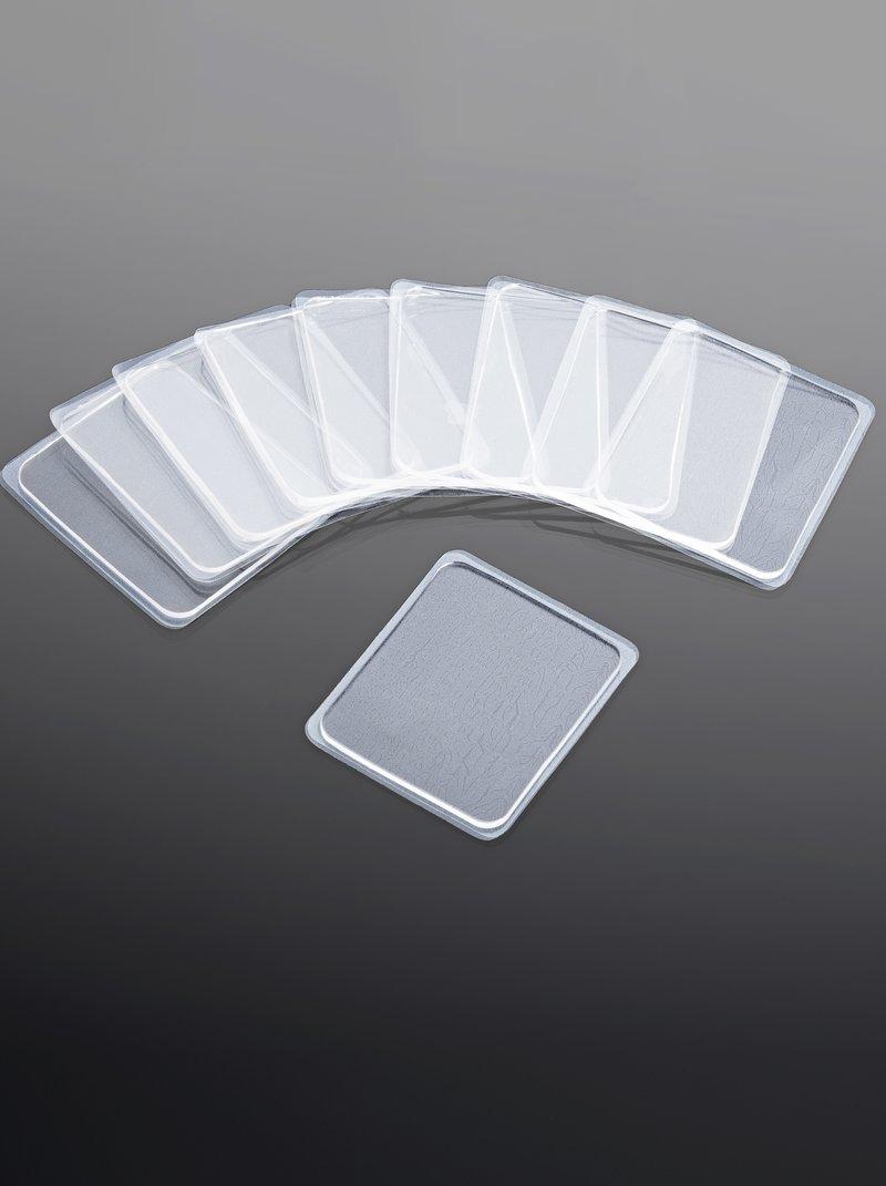 Lote 10 soportes adhesivos recortables