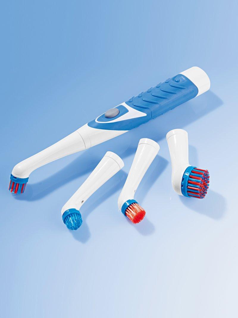 Cepillo de limpieza eléctrico con 4 cabezales