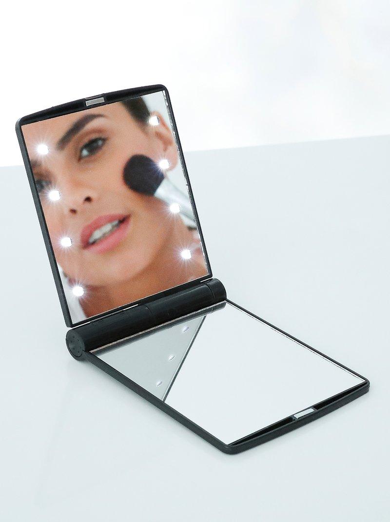 Mini espejo luminoso con LEDS