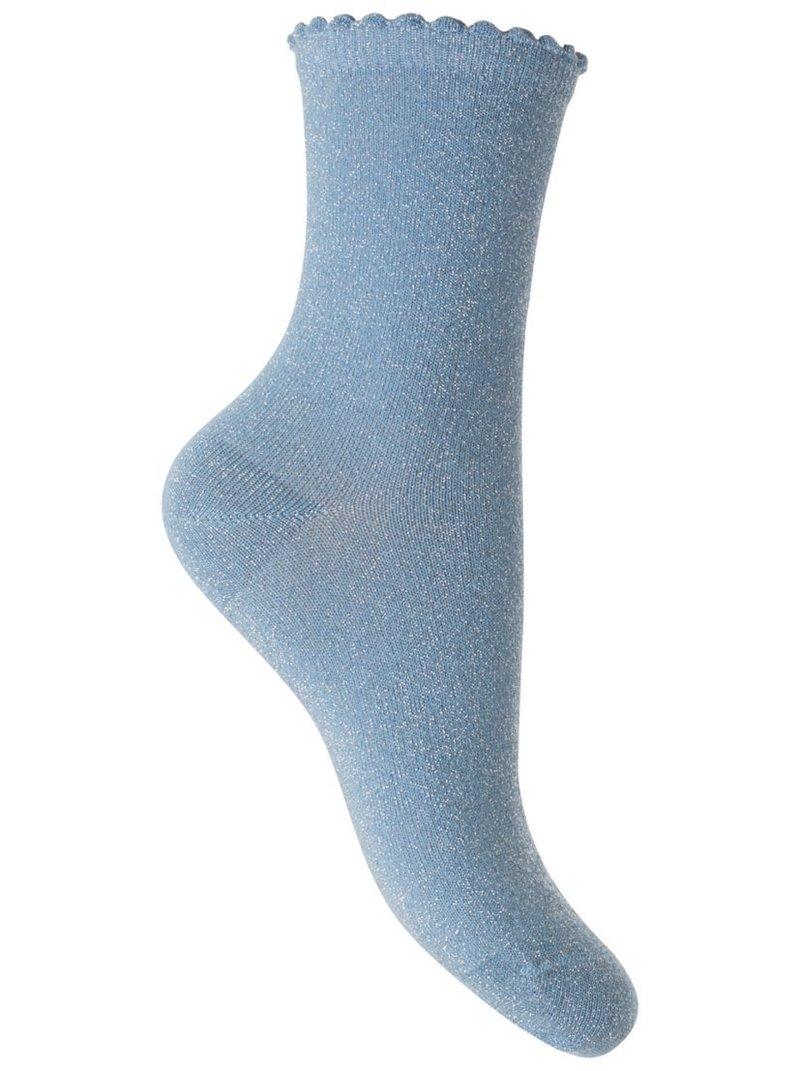 Calcetines altura media efecto brillante