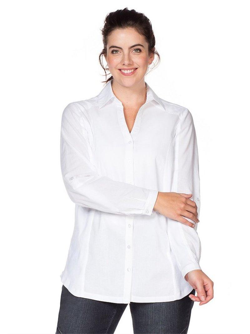 Blusa holgada transpirable para mujer