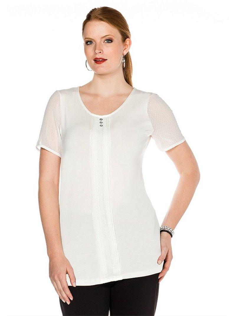 Camiseta mujer manga corta plumeti