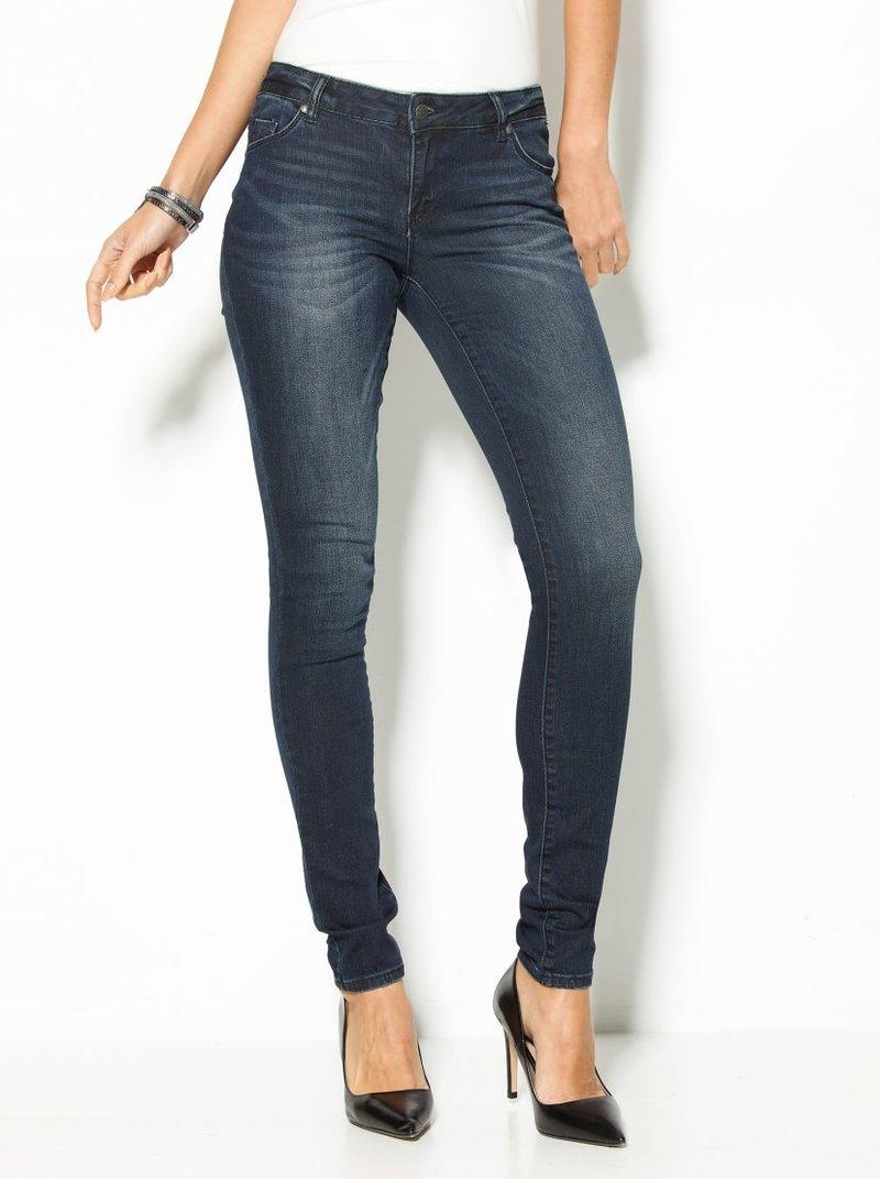 Jeans de corte slim US 32 mujer