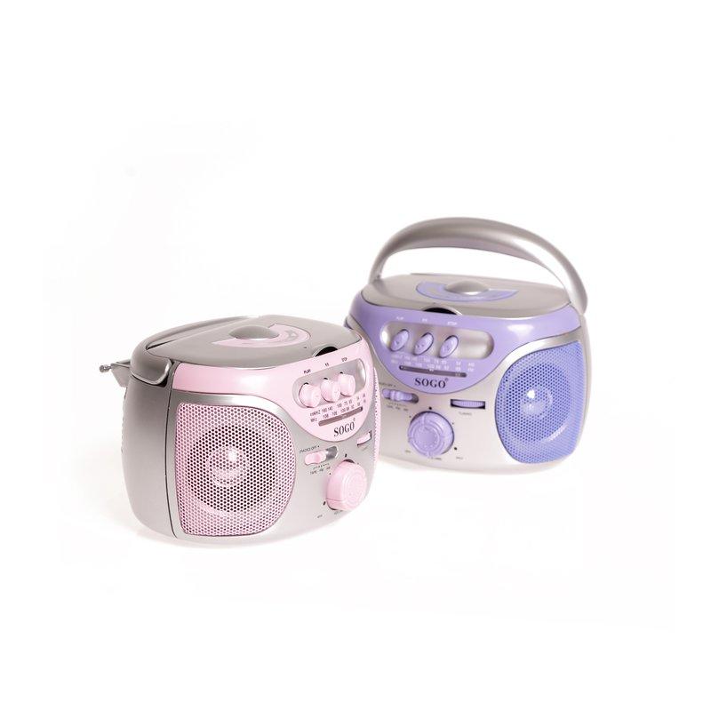 Super mini radio reproductor de cassette