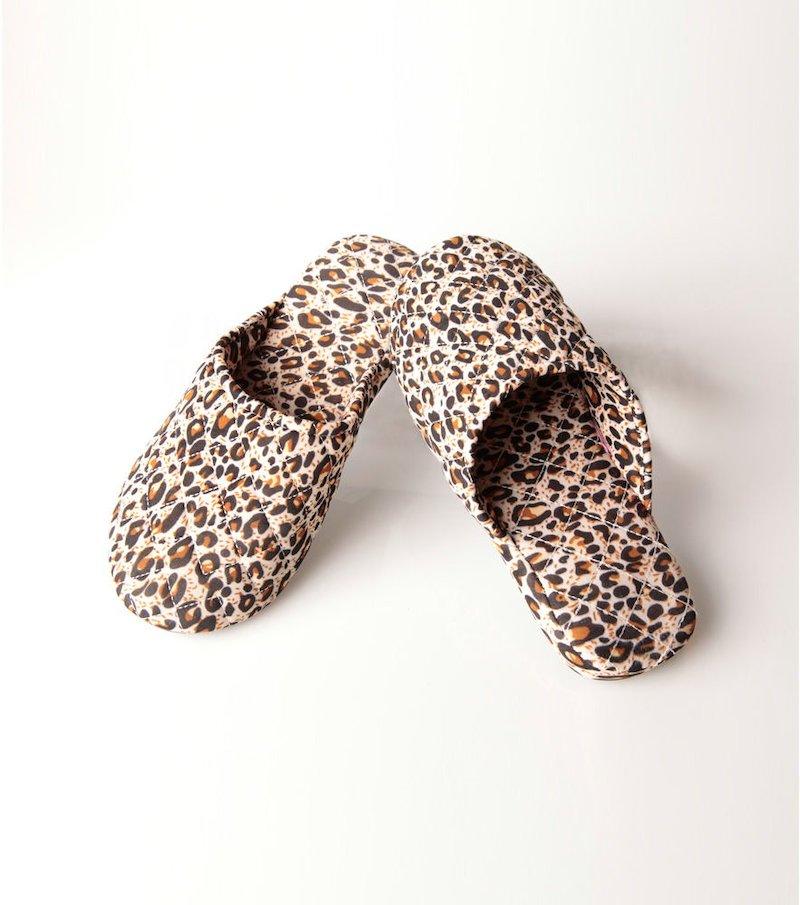 Zapatillas planas mujer leopardo