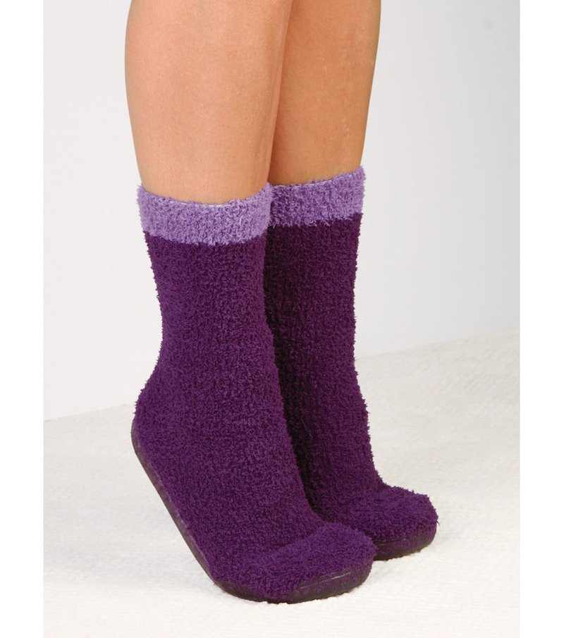 Zapatillas con calcetines incorporados