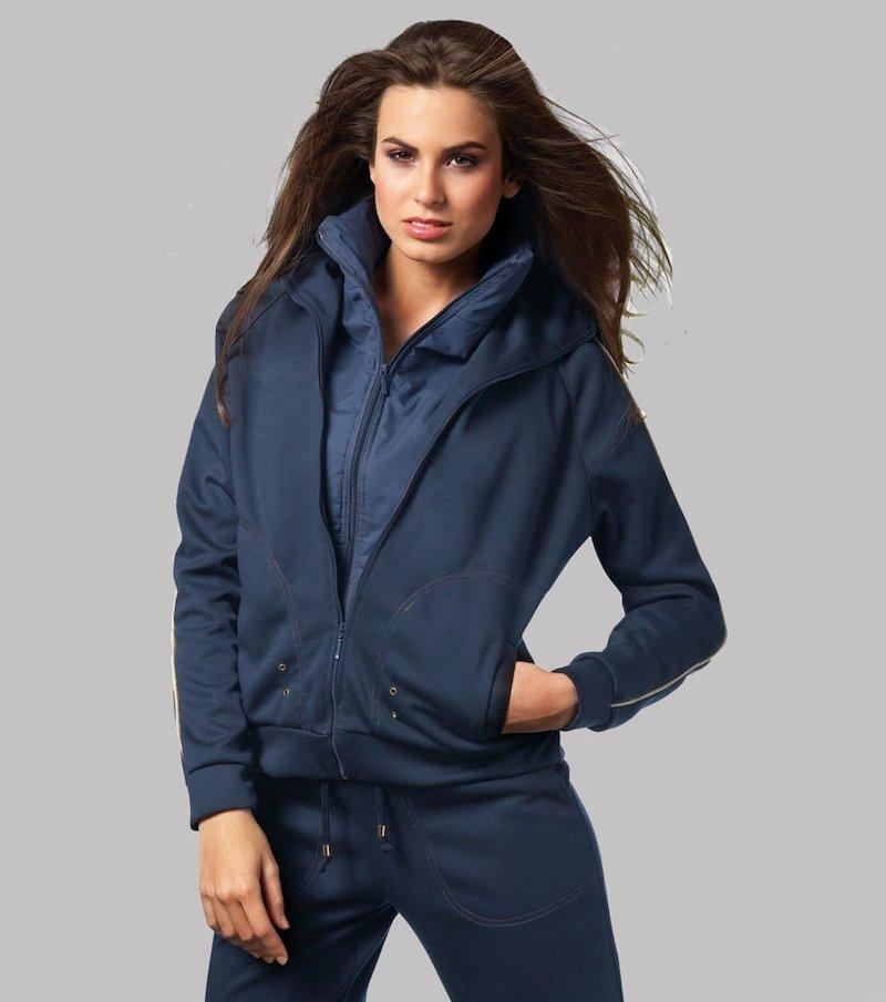 Conjunto chaqueta y pantalón largo chándal mujer