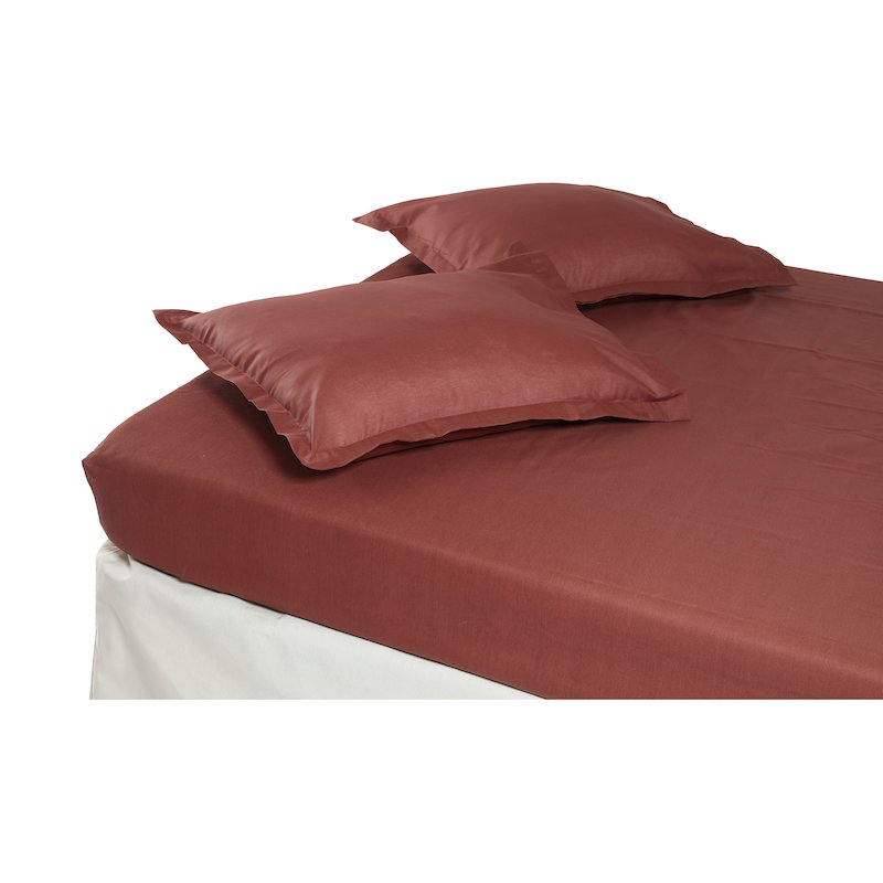 Set sábana bajera y 2 fundas almohada lisas
