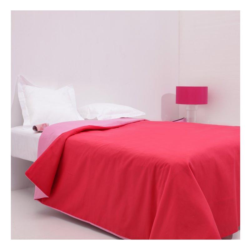 Funda nórdica bicolor y edredón cama 135