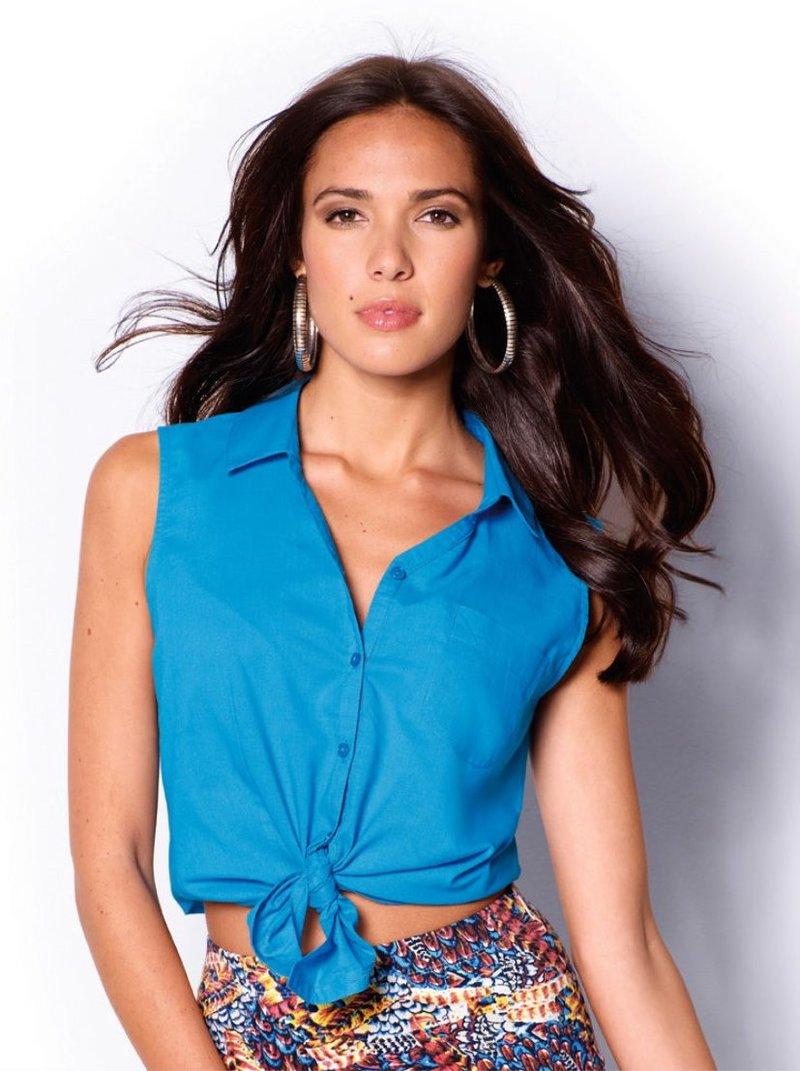 Blusa mujer sin mangas 100% algodón