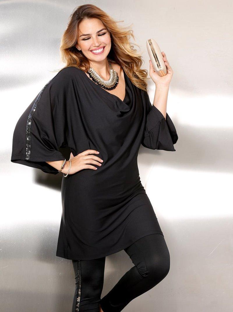 Blusa de vestir mujer con lentejuelas