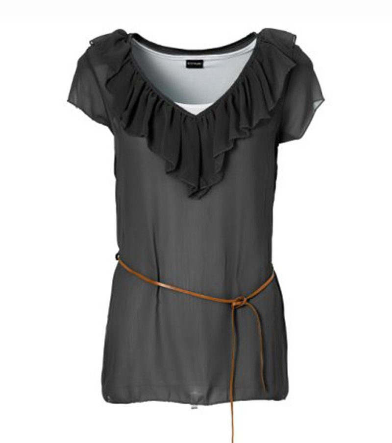 Camiseta mujer con cinturón