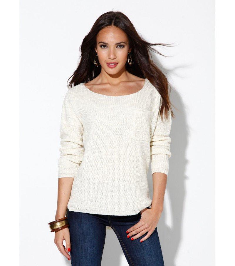 Jersey mujer tricot metalizado