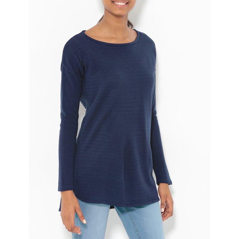 Jersey de señora con manga larga tricot extra suave