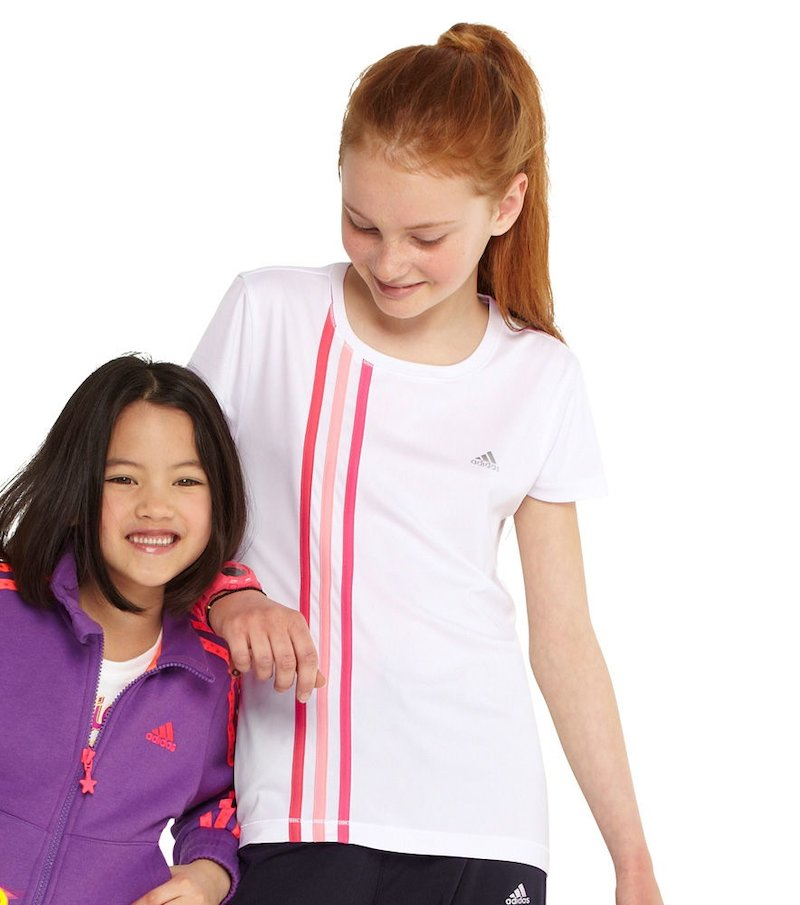 Camiseta manga corta ClimaCool niña