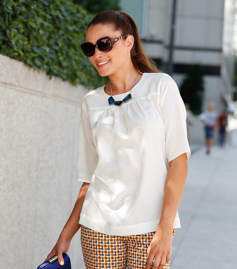 Camisa blusa mujer manga corta