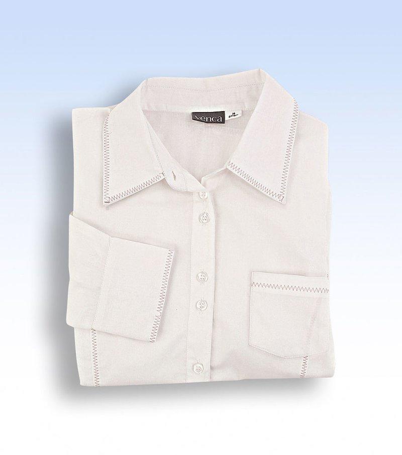 Camisa blusa mujer manga larga de algodón
