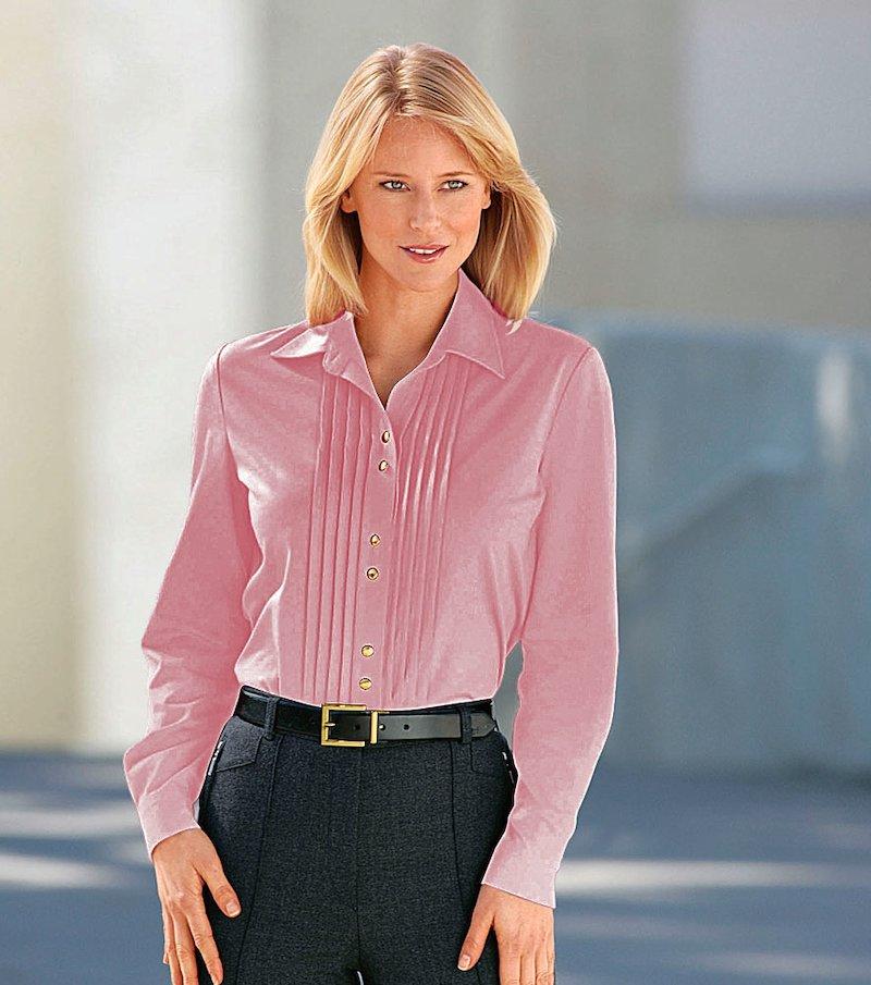 Camisa blusa mujer con jaretas