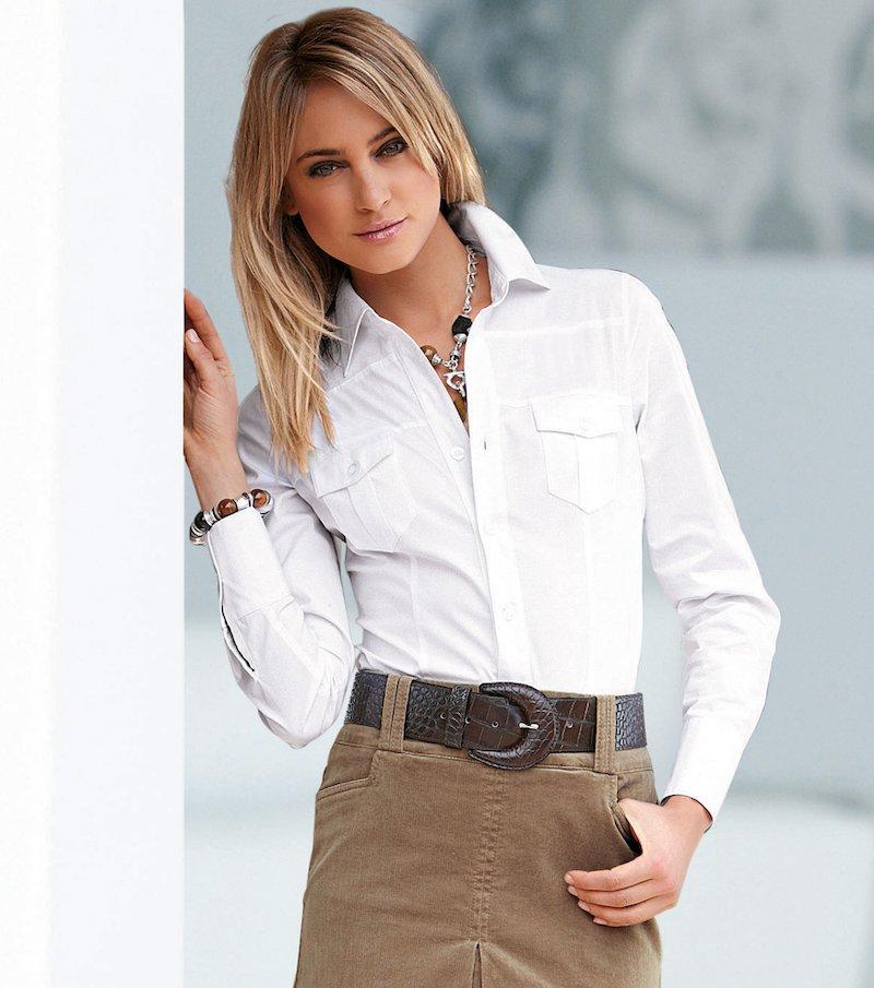 Camisa blusa mujer manga larga