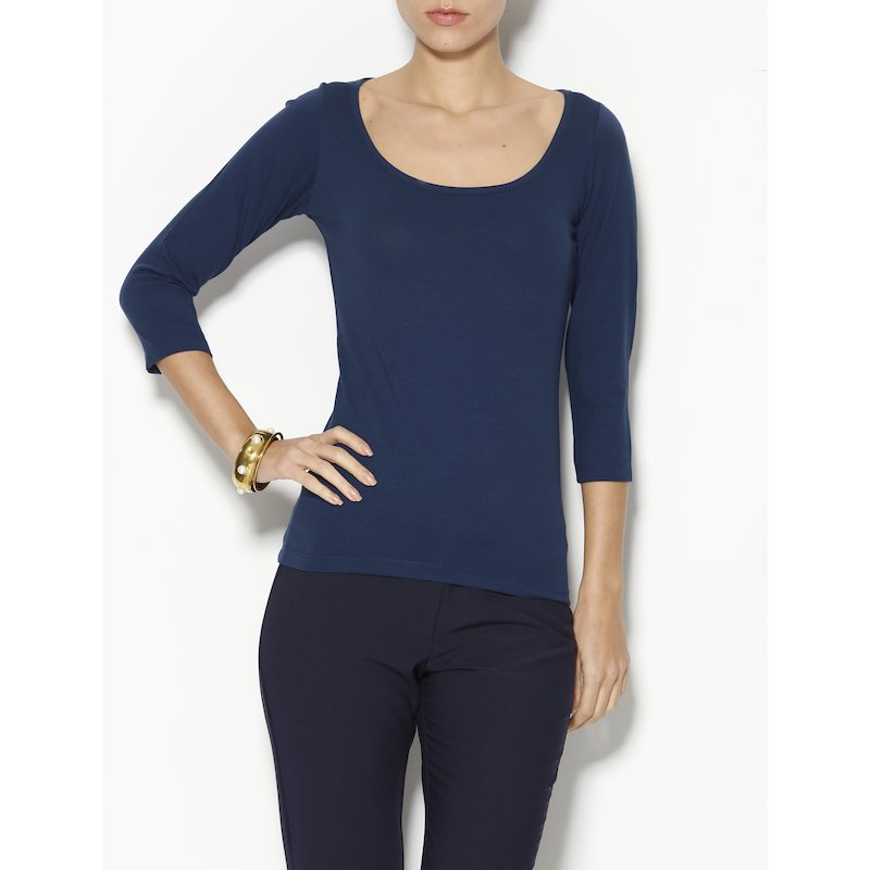 Camiseta mujer de manga 3/4  bailarina
