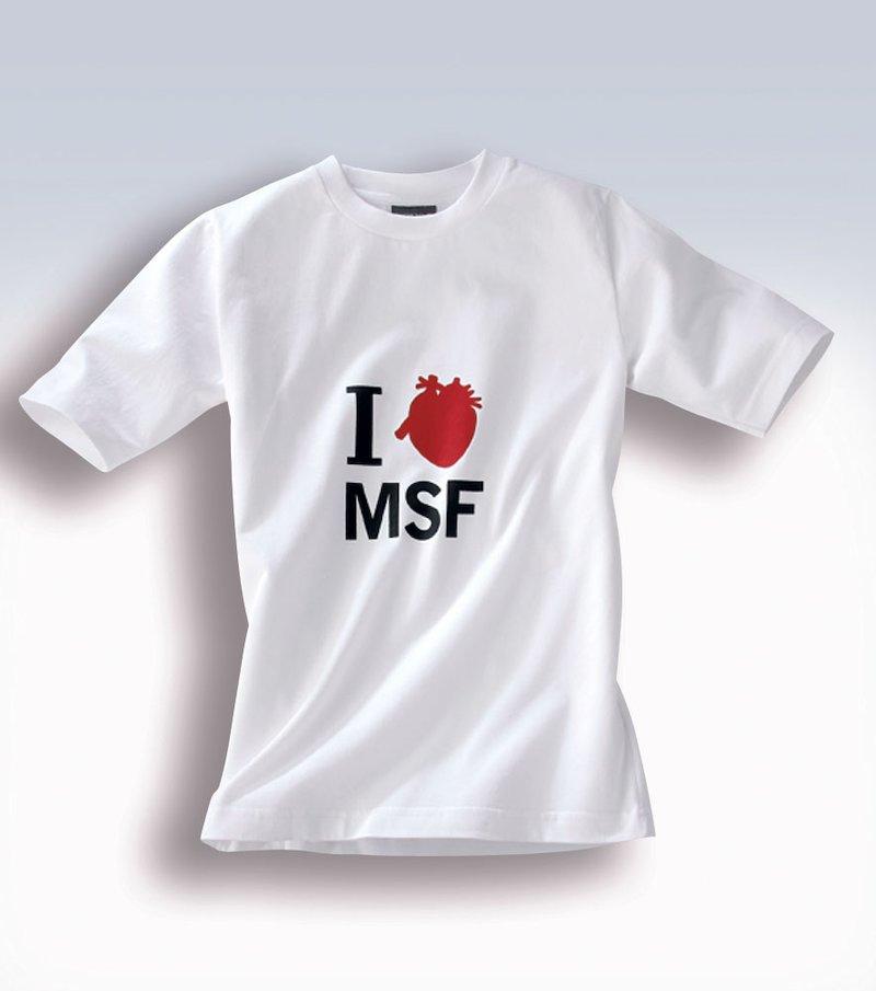 Camiseta manga corta mujer Médicos Sin Fronteras