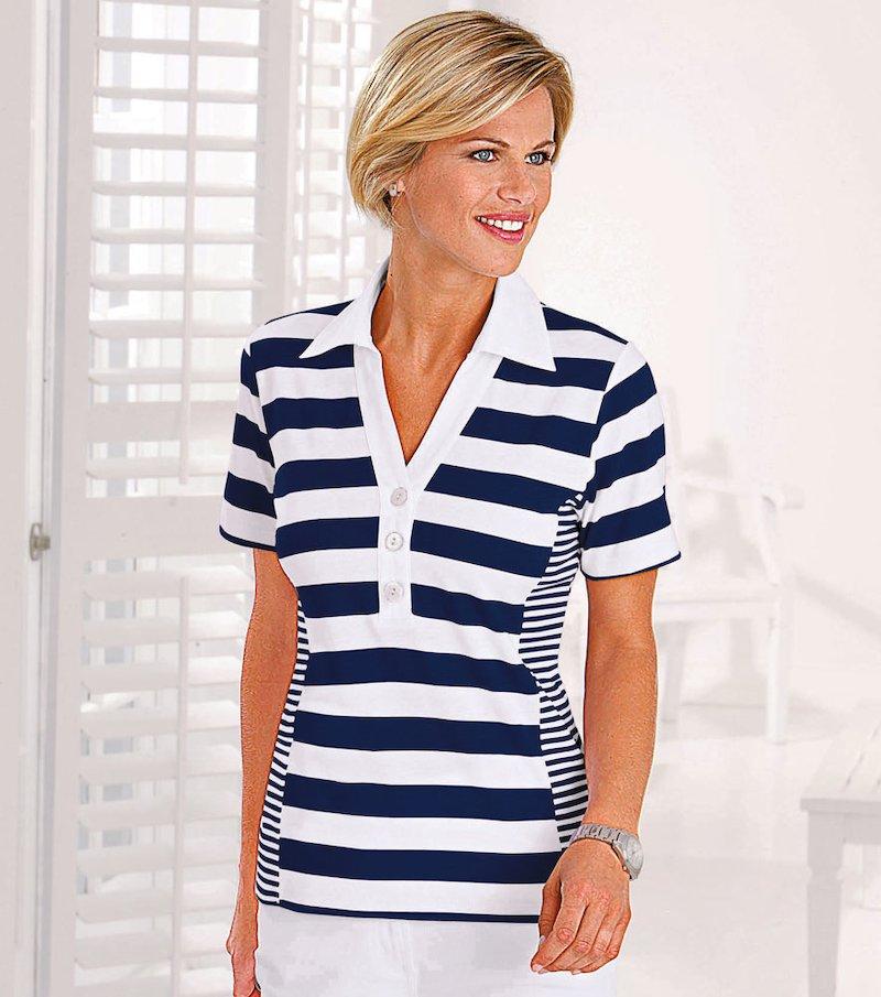Camiseta polo mujer 100% algodón