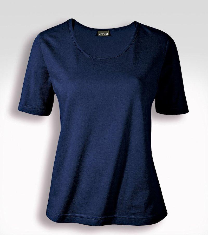 Camiseta mujer manga corta 100% algodón