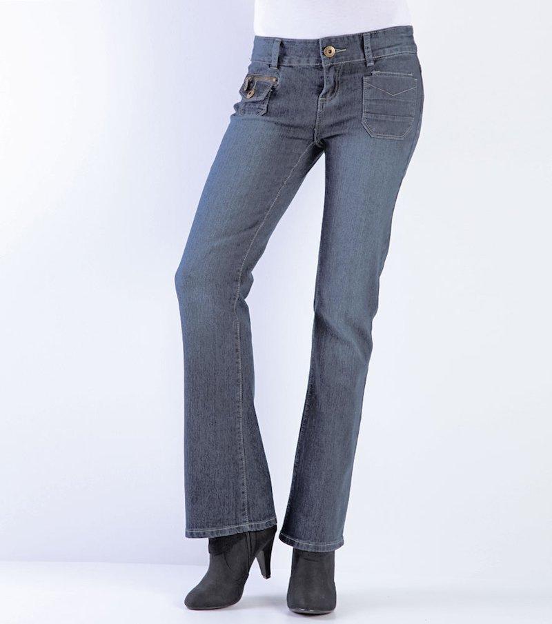 Pantalón vaquero jeans mujer reductor 'push down'