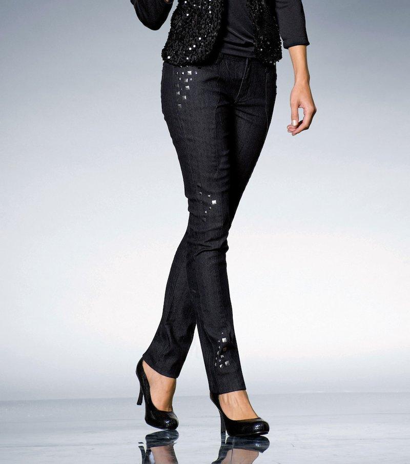 Pantalón vaquero pitillo jeans mujer