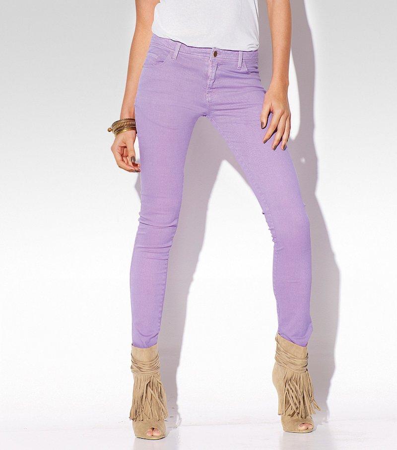 Pantalón largo pitillo mujer elástico
