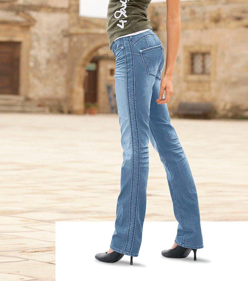 Pantalón vaquero jeans mujer elástico