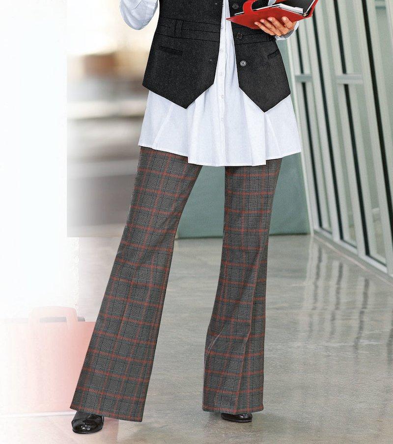 Pantalón largo mujer elástico