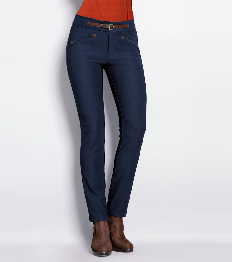 Pantalón tregging mujer elástico