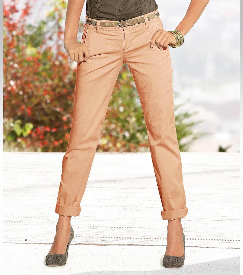 Pantalón pirata mujer 100% algodón