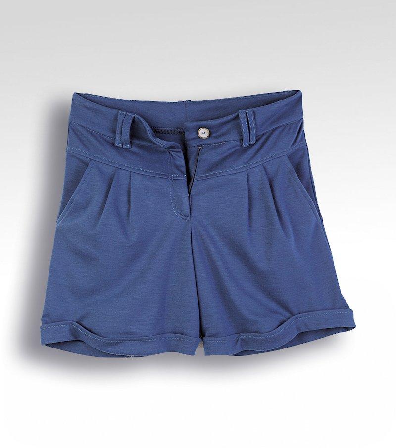 Pantalón short mujer punto