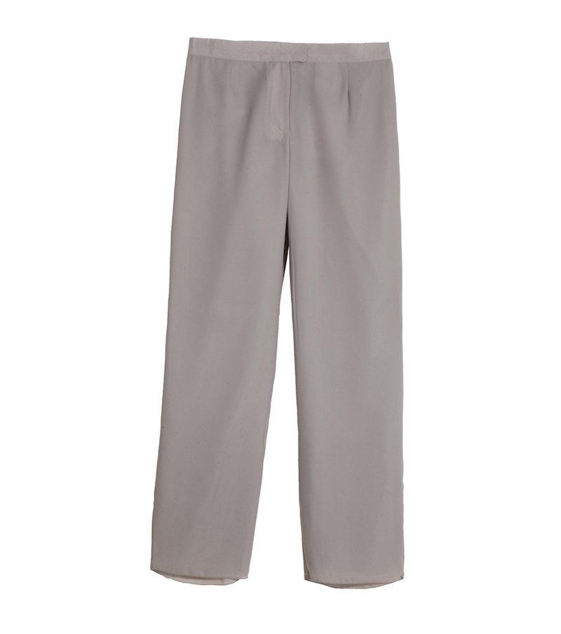 Pantalón mujer vestir corte recto
