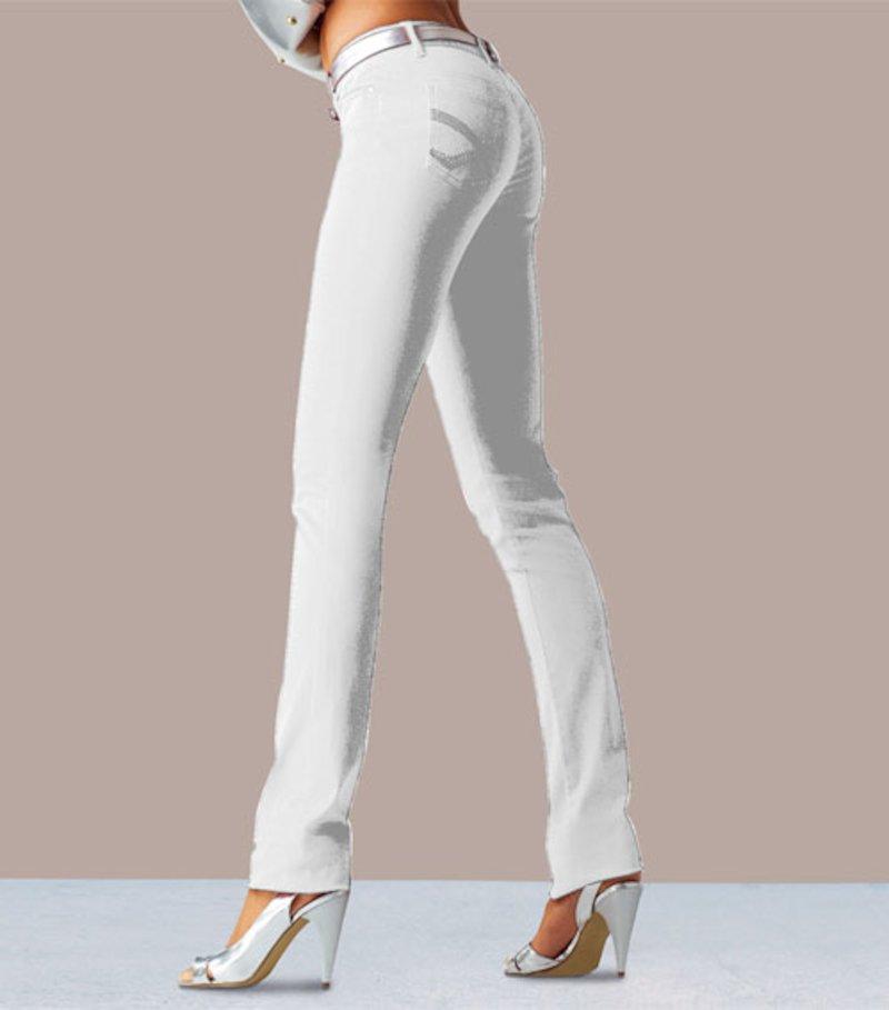 Pantalón pitillo slim mujer