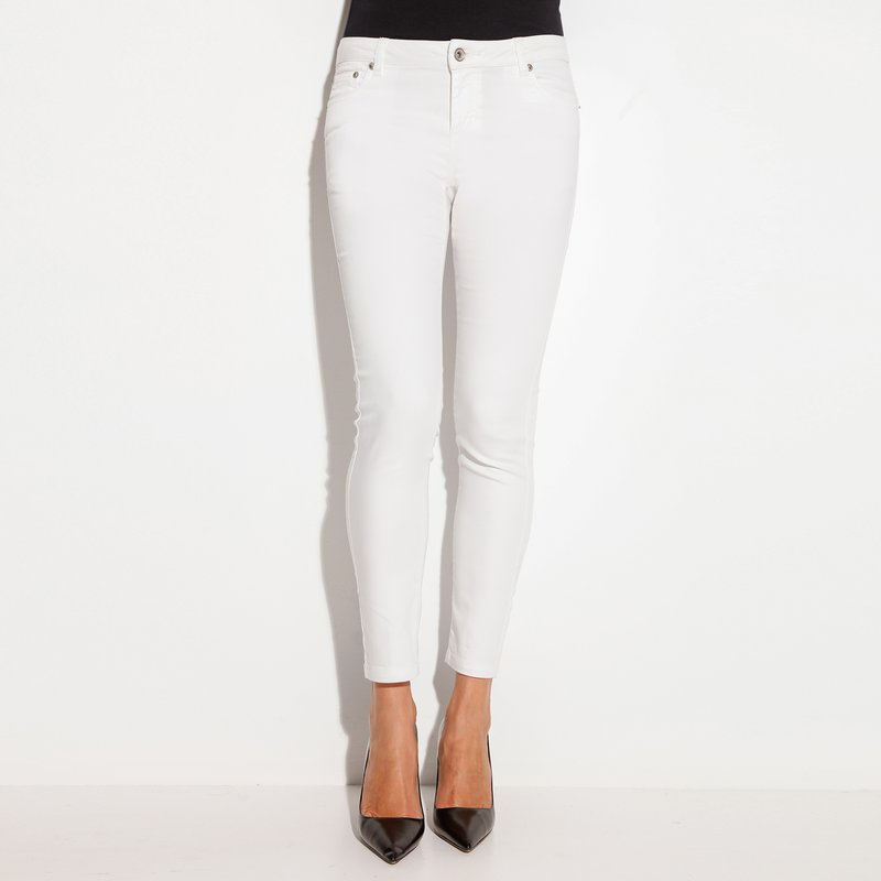 Pantalón largo mujer elástico clásico