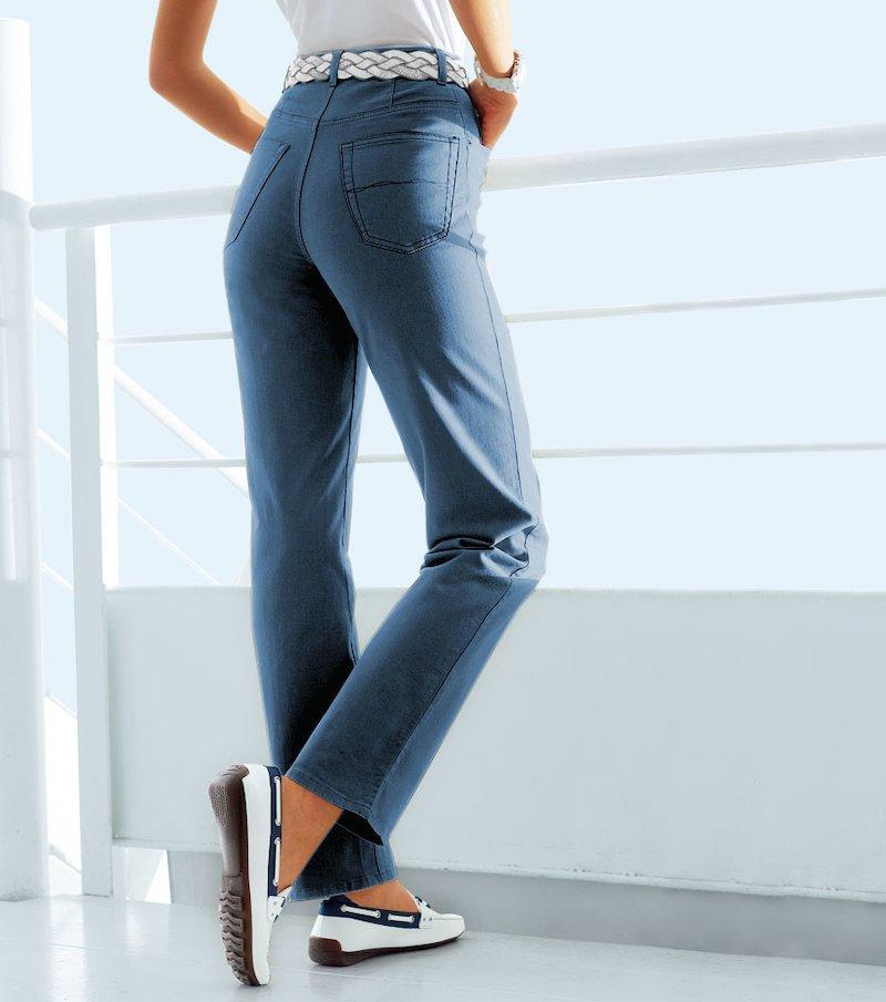 Pantalón largo mujer de tiro alto