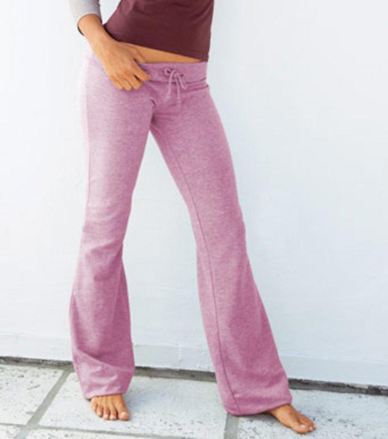 Pantalón largo de chándal mujer de felpa