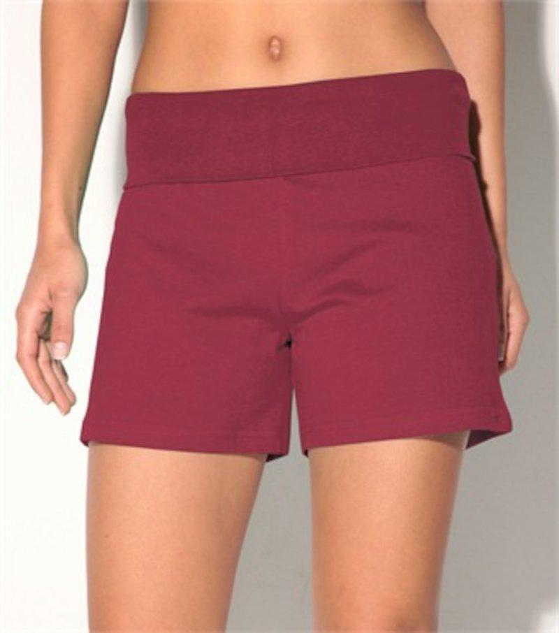 Pantalón short mujer de punto elástico