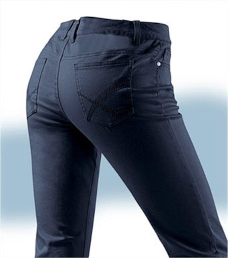 Pantalón corsario pitillo mujer