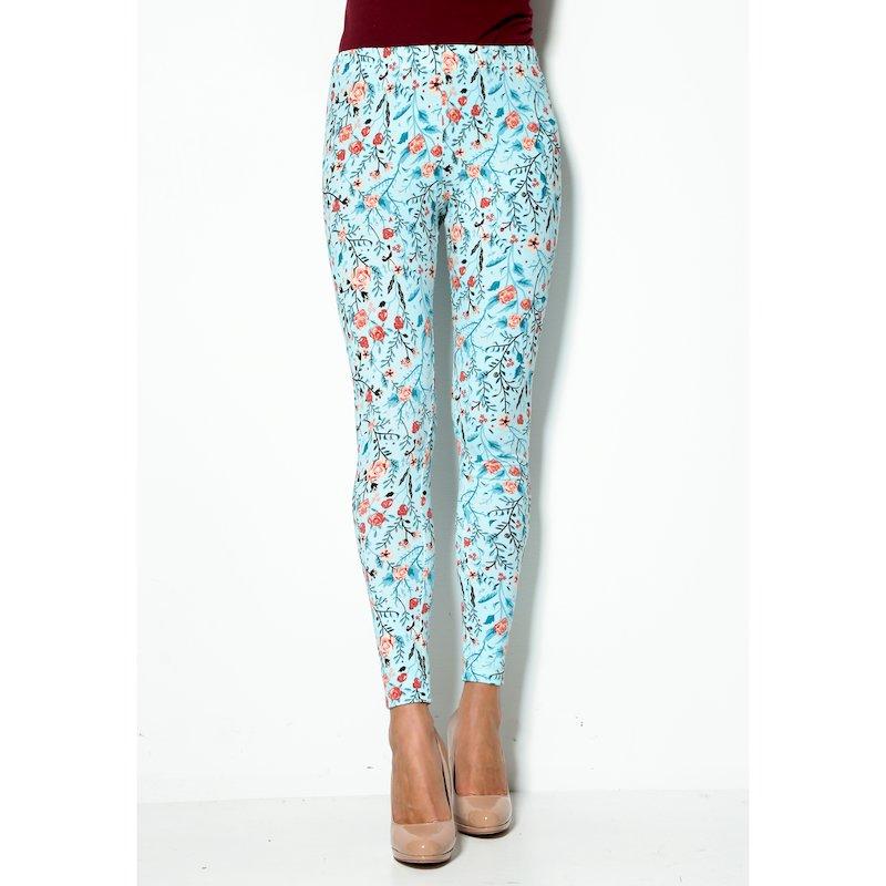 Pantalón legging mujer estampado de flores