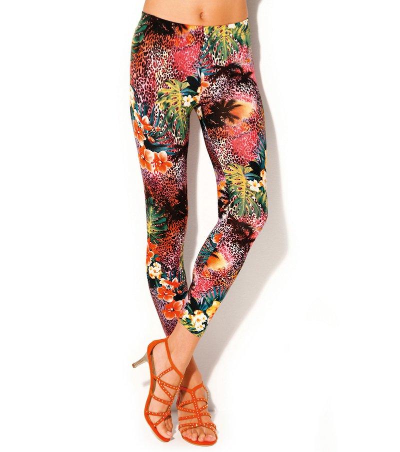 Pantalón largo legging mujer estampado